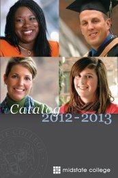 College Catalog - Midstate College