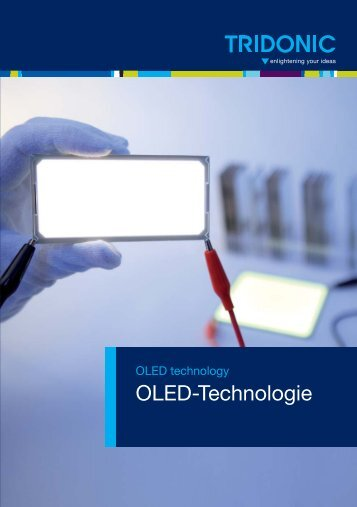 Flyer OLED technologie