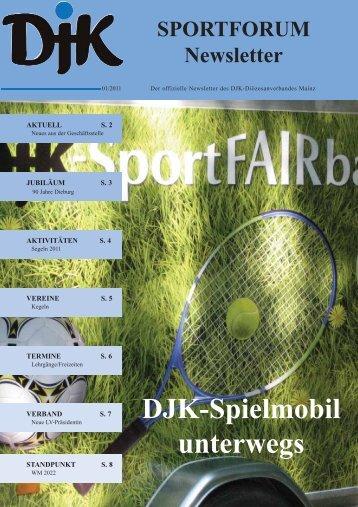 DJK-Spielmobil unterwegs - Bistum Mainz