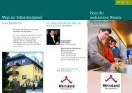 Download Flyer Ambulantes Wohnen in Witzenhausen