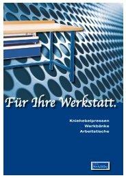 Für Ihre Werkstatt. - EVBZ Steinhöring