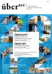 aktuelles aus der überseestadt - uebersee-magazin.de