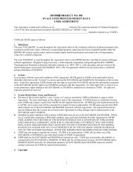 dippr® project no. 801 evaluated process design data user agreement