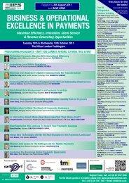 www.payopsexcellence.com Fax - Equens SE