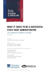 Core Competencies for Effective Leadership - National Association ...