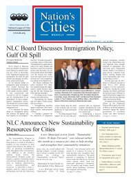 NLC Board Discusses Immigration Policy, Gulf Oil Spill - National ...