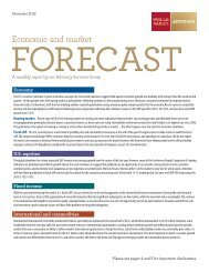 Economic and market forecast - Home