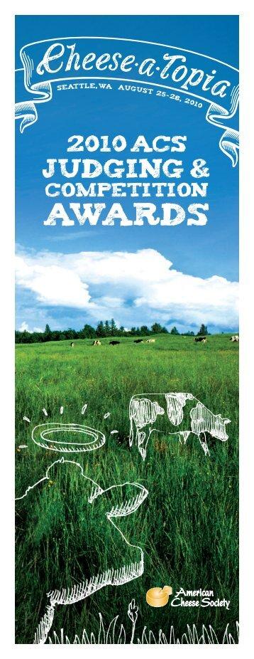 AWARDS - American Cheese Society
