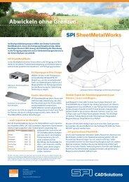 Abwickeln ohne Grenzen - SPI SheetMetalWorks
