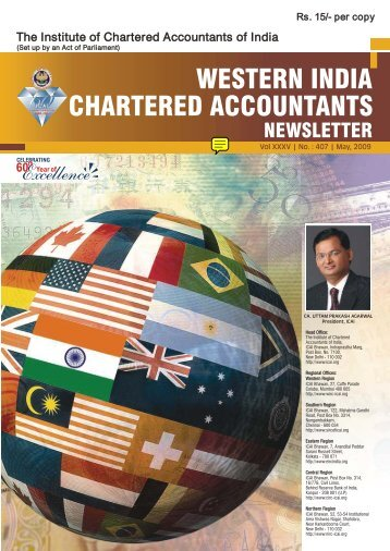 Chartered Accountants - Western India Regional Council Of ICAI
