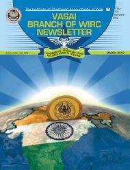 vasai branch of wirc newsletter vasai branch of wirc ... - vasai-icai.org