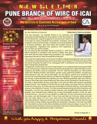 Newsletter - PUNE ICAI