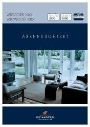ASENNUSOHJEET - Wicanders