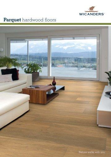 Parquet hardwood floors - DvorakHaus