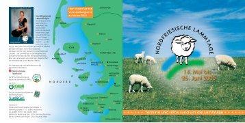 Nordfriesland - Nordfriesische Lammtage