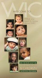 Welcome to WIC Brochure - Minnesota Department of Health