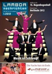 12.- 27. April Festwoche schamlose 2012 - LAMBDA-Nachrichten