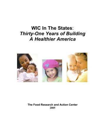 WIC In The States - Food Research and Action Center