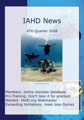 IAHD Newsletter Concept - International Association for ...