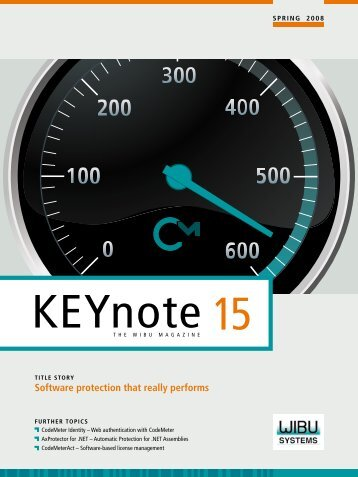 Software protection that really performs - CodeMeter