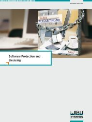 Software Protection and Licensing - wibu-systems ag