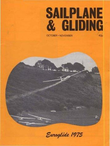 Sailplane & Gliding 1975 - Lakes Gliding Club
