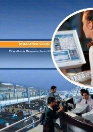 Installation Guide - Mirasys