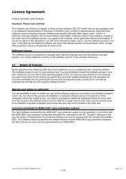 Licence Agreement - GGU-Software