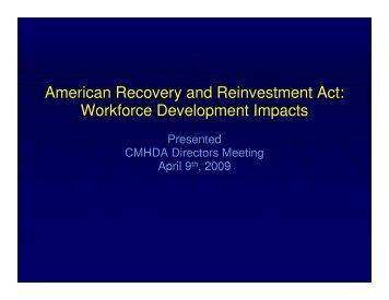 ARRA - California State Rural Health Association