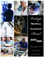 Verdugo Workforce Report - City of Glendale