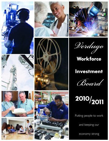 Verdugo Workforce Report - City of Glendale