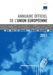 Annuaire officiel de l'Union européenne 2011 - EU Bookshop - Europa