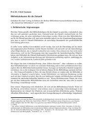Bibliotheksbauten für die Zukunft - Universitätsbibliothek der Freien ...