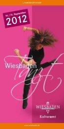 ausführliches Programm - Tanztherapie Wiesbaden
