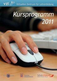 Kursprogramm 2011 vzl - Medienzentrum Wiesbaden eV