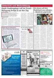 Unterricht und Weiterbildung - Rhein-Main.Net