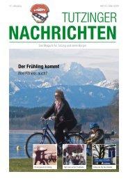 Download Heft 03 / März 2009 - Tutzinger Nachrichten