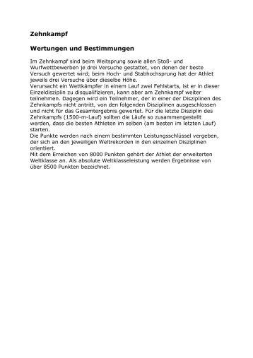 Zehnkampf-Siebenkampf - cks-computer.info