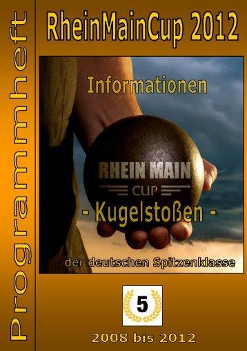 aktuelle Programmheft - RHEIN MAIN CUP