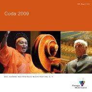 Coda 2009 - Rheingau Musik Festival