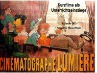 Kurzfilme als Unterrichtseinstiege - Medienzentrum Wiesbaden eV