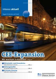 CEE-Expansion - IS-Inkasso Service GmbH & Co KG