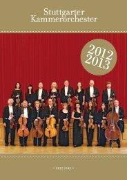 Tournee - Stuttgarter Kammerorchester