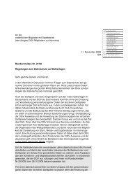 Muster-Richtlinien zum Datenschutz - Golf.de