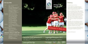 Erfolgreich bei Olympia - Golf.de