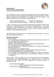 Förderung des Lsp-Senioren 2010 - Golf.de
