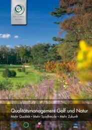 Qualitätsmanagement Golf und Natur - Deutsche Wildtier Stiftung