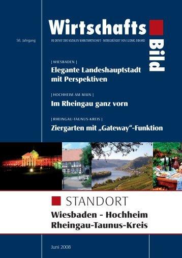 Standort Wiesbaden - Rheingau - Taunus - Kreis