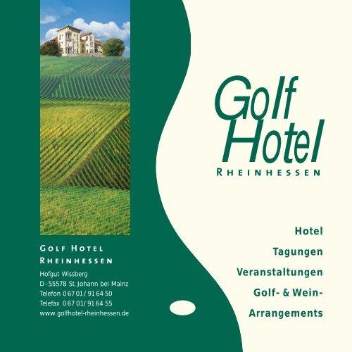 Hausprospekt pdf - Golf Hotel Rheinhessen