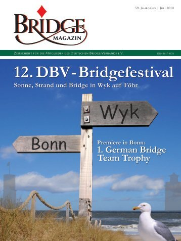 Juli 2010 - Deutscher Bridge-Verband e.V.
